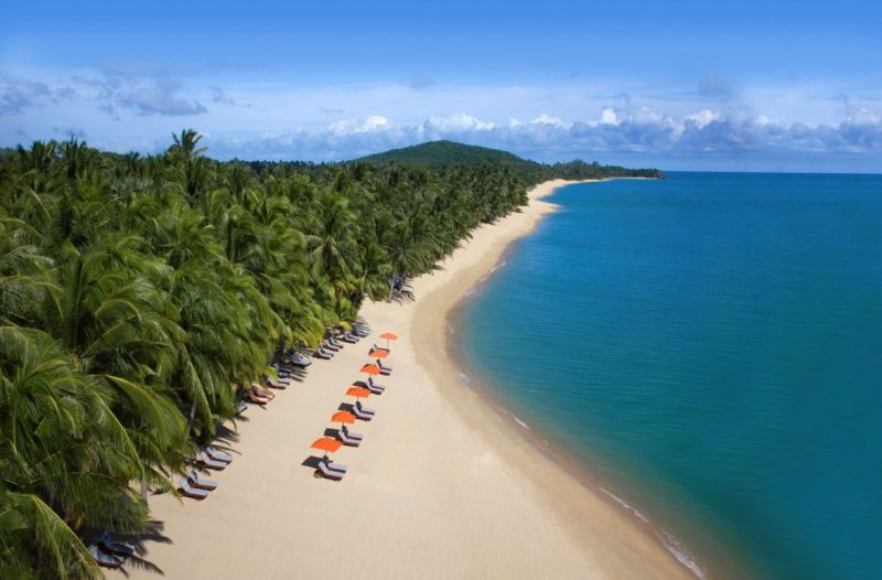 Long Beach at the Santiburi, Koh Samui, Thailand
