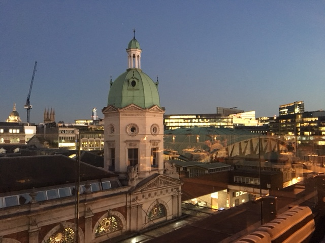 Smiths of Smithfield: Views of London from the Roof Terrace