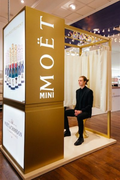The selfridges moet chandon photo booth for gifts with extra the selfridges moet chandon photo booth for gifts with extra sparkle negle Image collections