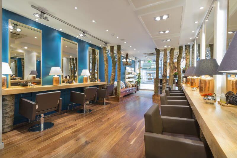 Edward james salon the hair holiday on northcote road for Interior stylist london