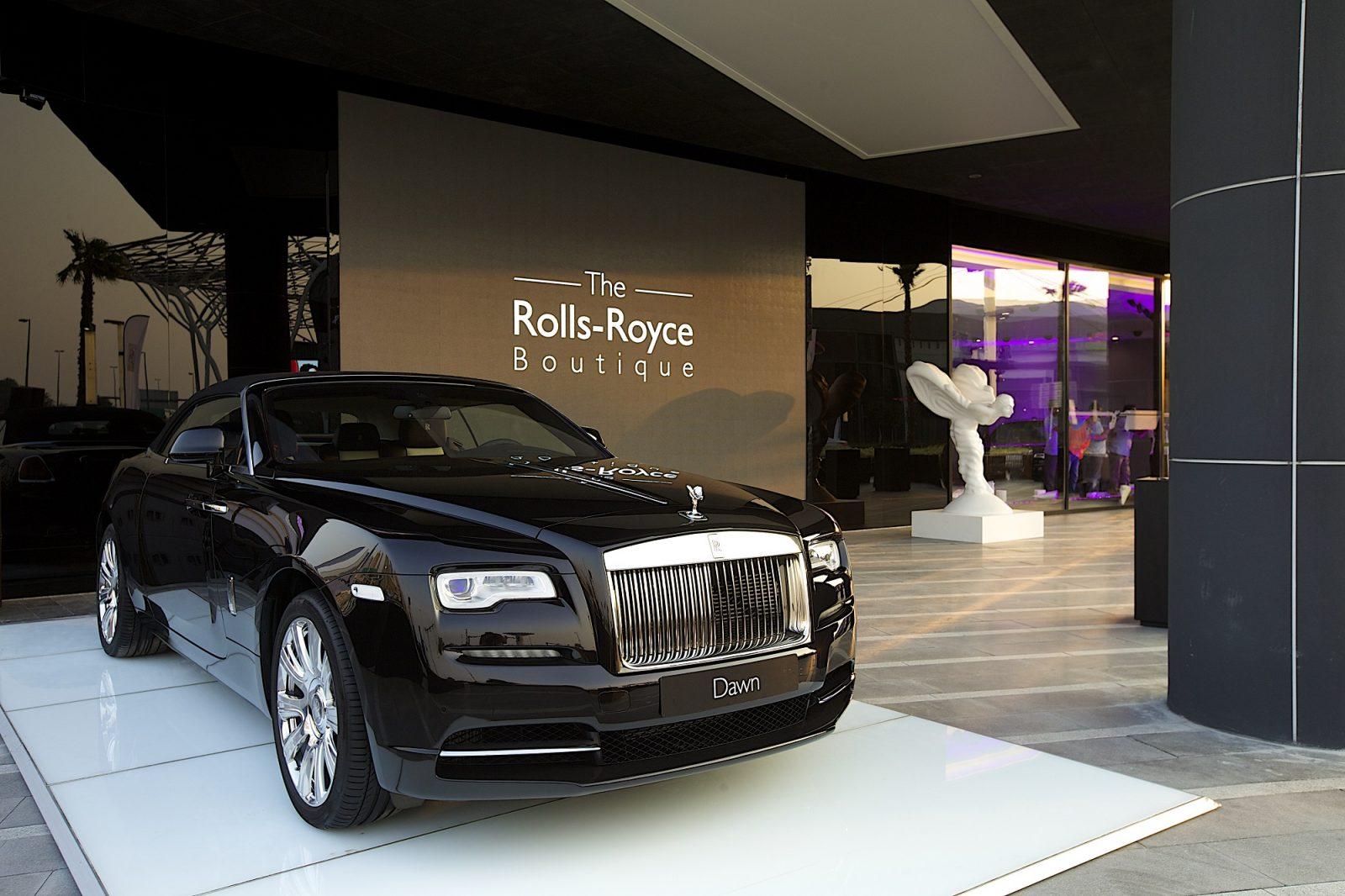 Rolls Royce Boutique Dubai
