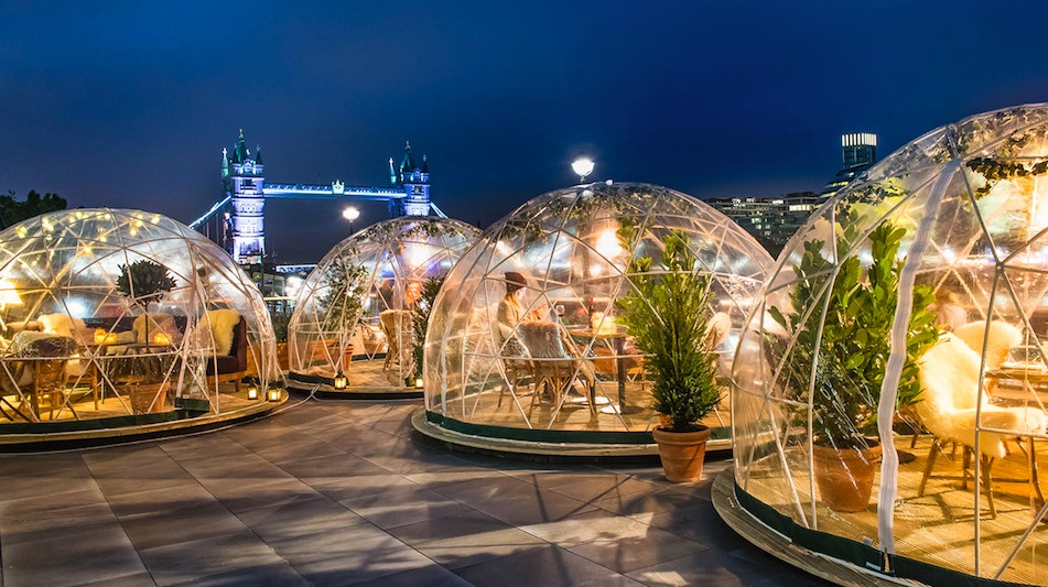Missed Out On An Igloo At Coppa Club Why Not Buy One