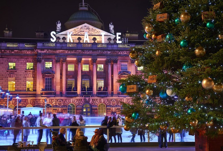 Mayfair Skating at Somerset House (Photo Credit James Bryant)