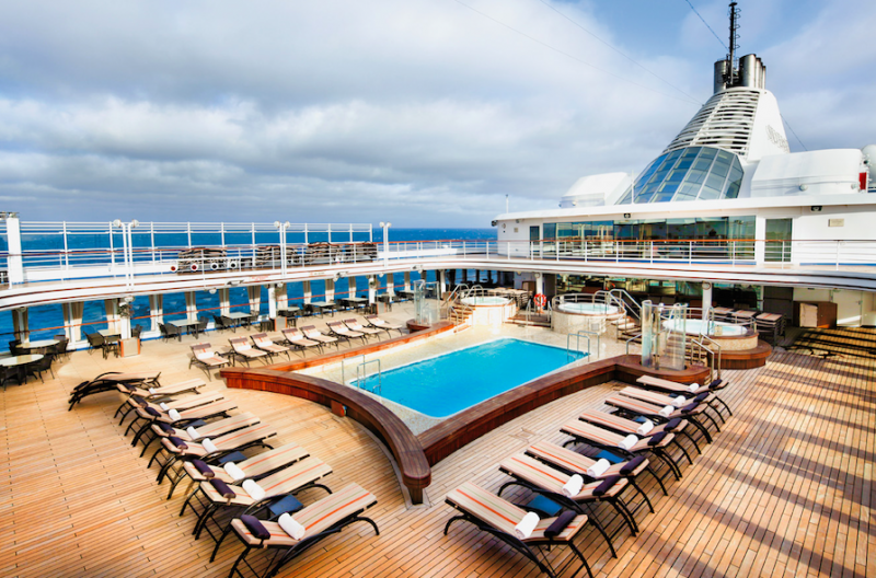 Silversea Pool Deck