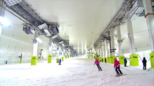 Snozone Get To Grips With Skiing On Real Snow Ahead Of