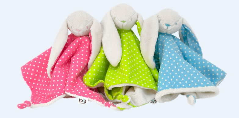 The luxuria lifestyle easter gift guide alternative treats for the adorable and luxuriously soft bunny comforters from tots are cute friendly and cuddly sure to make a lovely gift for any new baby this easter negle Images