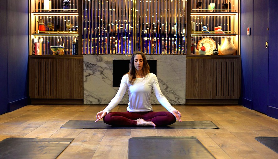 Yoga Kirsty Gallagher at Marylebone May Hit List
