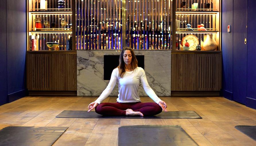 Yoga Kirsty Gallagher at Marylebone May Hit List