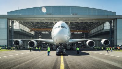 It?s Porsche Cayenne vs Airbus A380