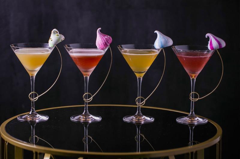 martinis and meringue quaglinos
