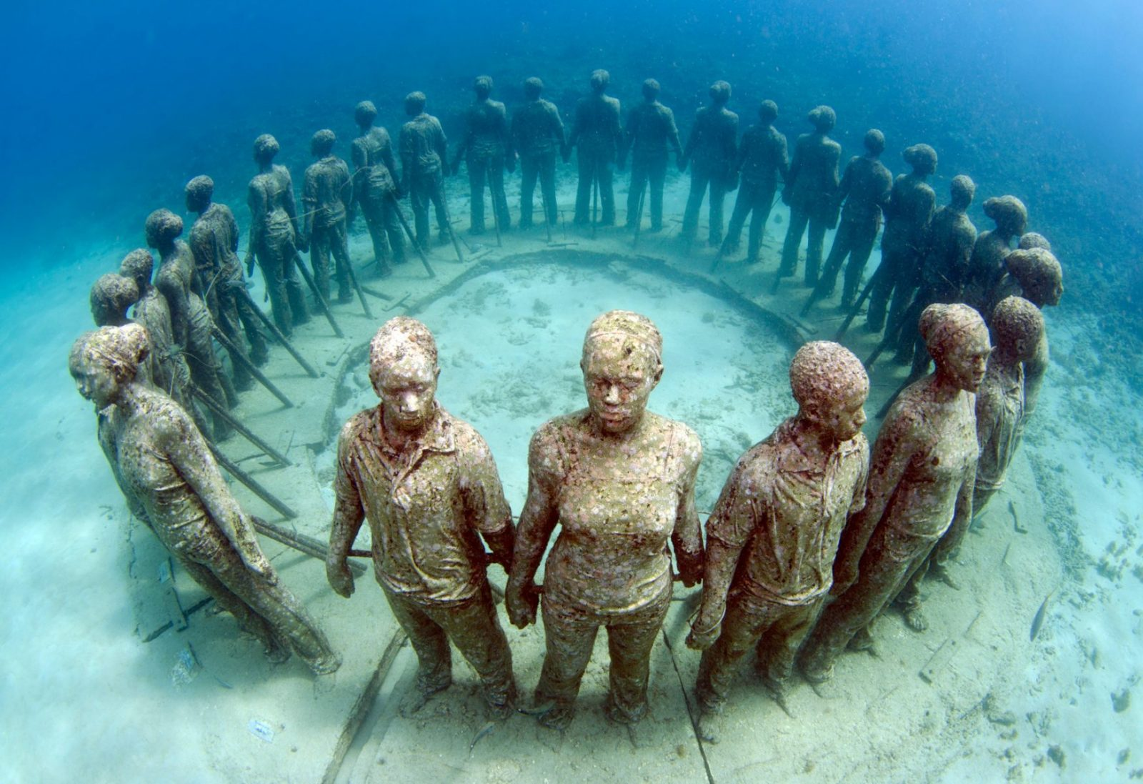 Ring of Children, Underwater Sculpture Park