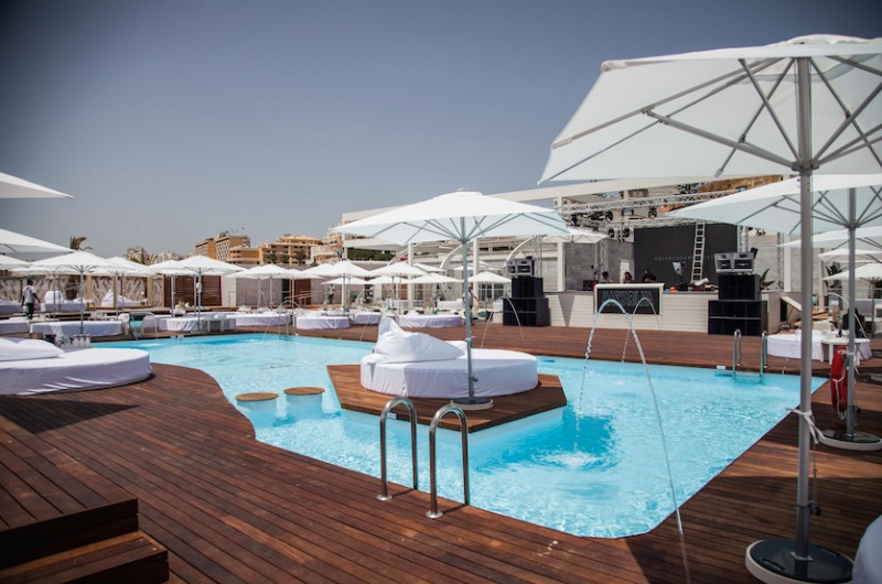 New Luxurious Amp Exclusive Blanco Beach Club In The
