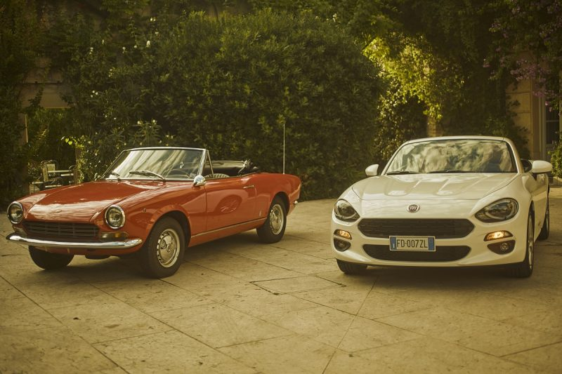 The Fiat 124 Spider The Classic 60 S Sports Car Brought Bang Up