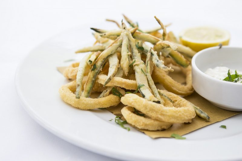 Calamari & Zucchini Vicino