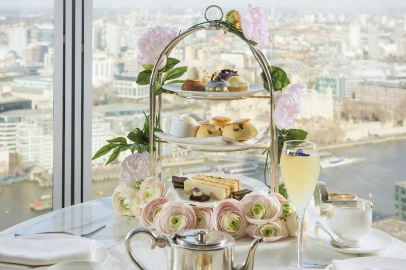 The Luxe List April 2018: Royal Botanical Afternoon Tea at Shangri-La Hotel at The Shard