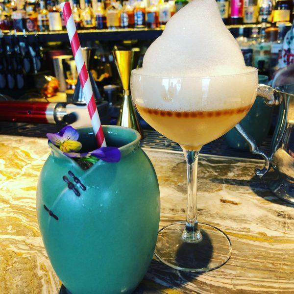 I am Jade and Early Grey Caviar Martini from Antonio Lay at Gong Bar